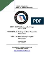 f Dot Geo Pak Drainage