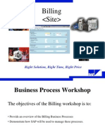 SAP SD Billing