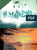 RAMADHAN Presentation by Farah and Aniya