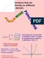 PC FUNCTIONS Piecewise Defined