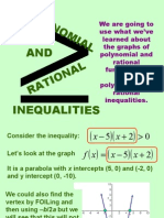 PC Polynomial Rational Inequalities