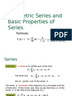 PC FUNCTIONS Geometric Series