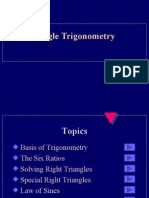 PC GEOMETRY Triangle trig