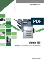 Bizhub 350 Brochure