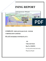 Report on Hydro Power Plant