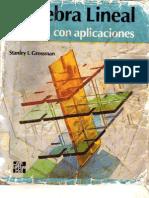 Algebra Lineal Con Aplicaciones 4 Edicion.