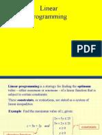 PC Linear Programming