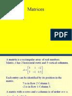 PC Matrices 1