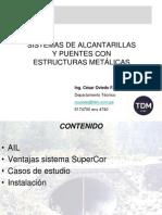 Alcantarillas y Puentes c. Oviedo