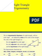 PC Right triangle Trig