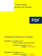 PC Trig Applications