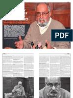 """Entrevista Hugo Cabieses 25/07.2013 / Semanario Voces / """"Nos tratan de convencer que Peru es un pais minero"""""""
