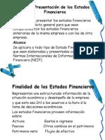 NIC 1 Presentacin de Los Estados Financieros
