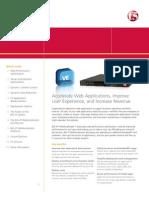 Big Ip Webaccelerator Data Sheet