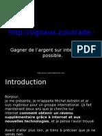 Présentation Générale Zulutrade - FR