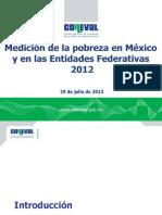 Resumen Ejecutivo Medicion Pobreza 2012 Parte1