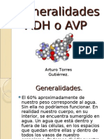 ADH o AVP.