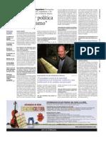Agamben - La Vanguardia - Policía y política son lo mismo