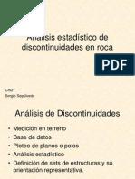 Analisis Estadistico de Discontinuidades en Roca