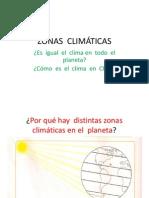 Zonas Climatica Planeta y Chile