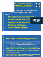 OTC2009 RC Ocean Thermal Compressed Ppt