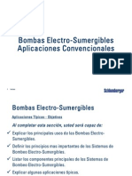 Bombeo Electrosumergible - Aplicaciones Convencionales