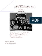 Congress of the Peoples of the East-Baku