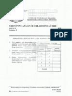 UPSR 2008-Sains b [018] Bahasa Malaysia