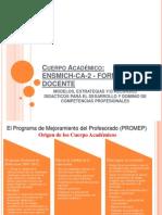 Cuerpos Academicos Ensmich.ppt