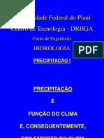 9. Precipitação MÉTODOS DE AVALIAÇÃO