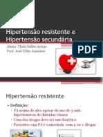 Hipertensão resistente e Hipertensão secundária [Salvo automaticamente]