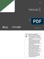 Nexus4 Qsg Ind Print v1.1 130514