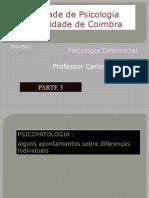 Psicologia Diferencial Aulas 2010 2011 PARTE 3