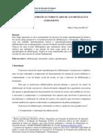 ORGANIZAÇÃO DAS PRÁTICAS CURRICULARES DE ALFABETIZAÇÃO E LETRAMENTO_Maria Silva