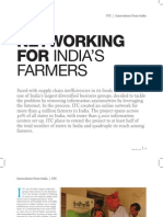 Networking for India Farmers