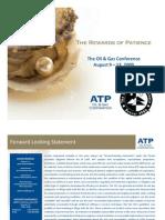 Aug2009 ATP Presentation