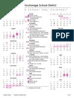 asd 2013-14 calendar