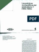 Arturo Fernandez - Las practicas sociopoliticas del sindicalismo/1 - CEAL