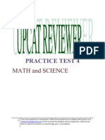 55119388 30426865 UPCAT Reviewer Practice Test 4