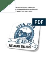 INFORME EJECUTIVO DE  AUDITORIA ADMINISTRATIVA AGUA PURA EL GOLFO.docx