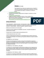 Definiciones de Medicina y Deporte
