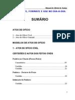 Manual do Oficial de Justiça - Prática