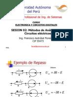 metodos de reduccion de circuitos electricos