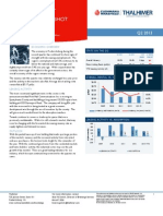 Fredericksburg AMERICAS Alliance MarketBeat Industrial Q22013
