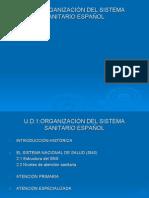 Organización Sistema Sanitario Español