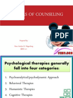 Models of Counseling