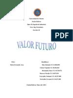 Valor Futuro Grupo 3