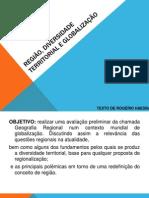 REGIÃO, DIVERSIDADE  TERRITORIAL E GLOBALIZAÇÃO.pptx