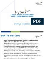 Hytera vs. Competition Webinar