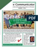 Communicator Senior Newsletter - August 2013